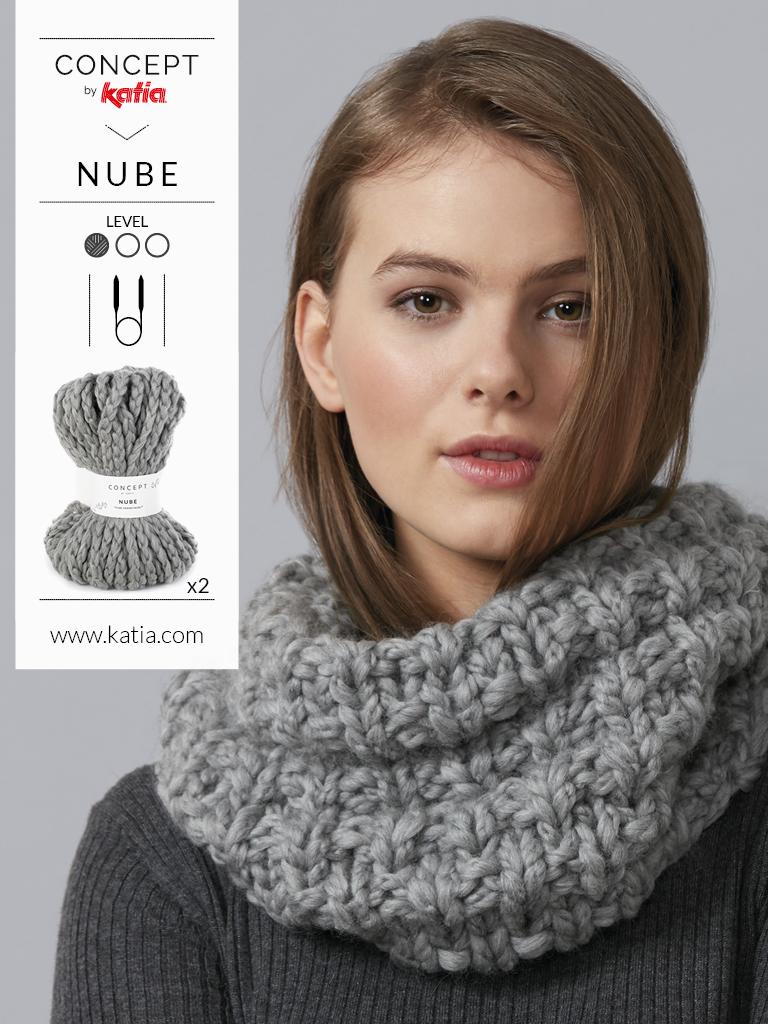 sciarpa lana grossa
