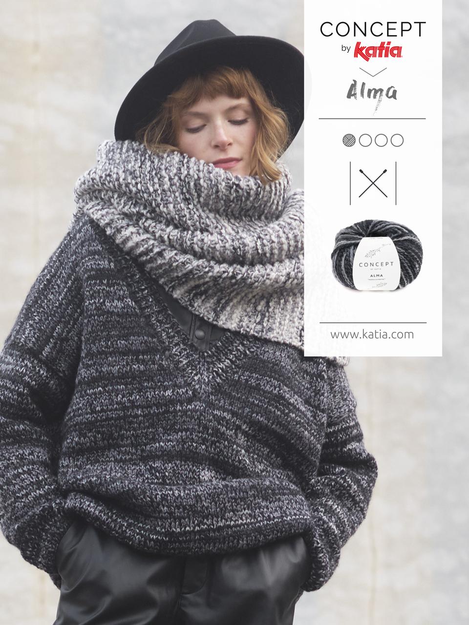 sciarpa e maglia