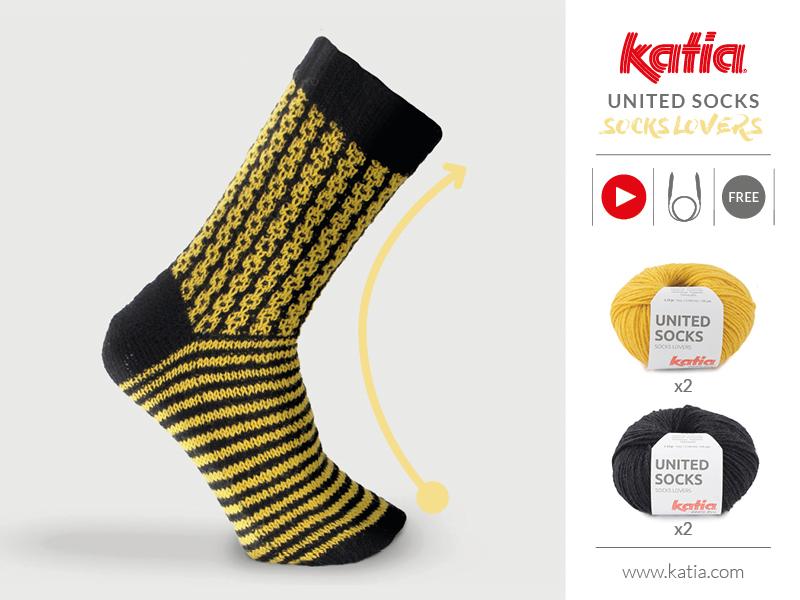 calzini fatti a maglia