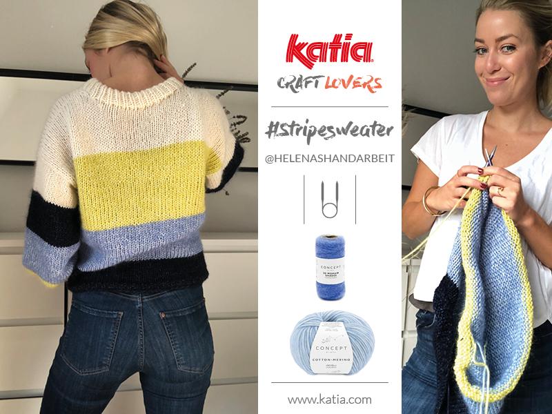 maglia a blocchi di colore