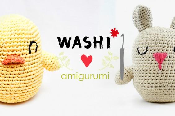 Leer Amigurumi Met Pasen Kuikentje En Paashaasje Met Washi