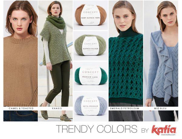 trendy kleuren