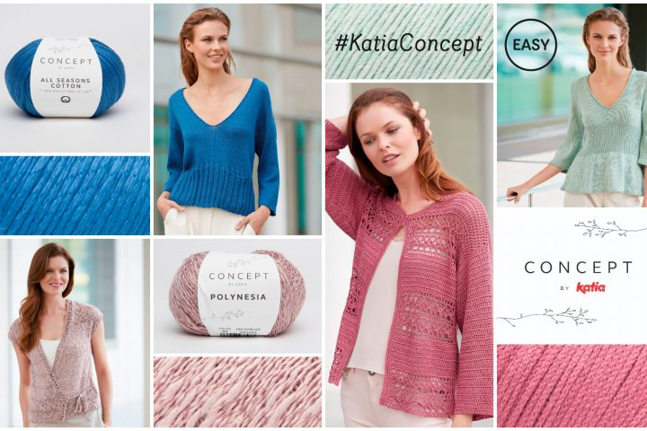 Katia elegante en eenvoudige patronen