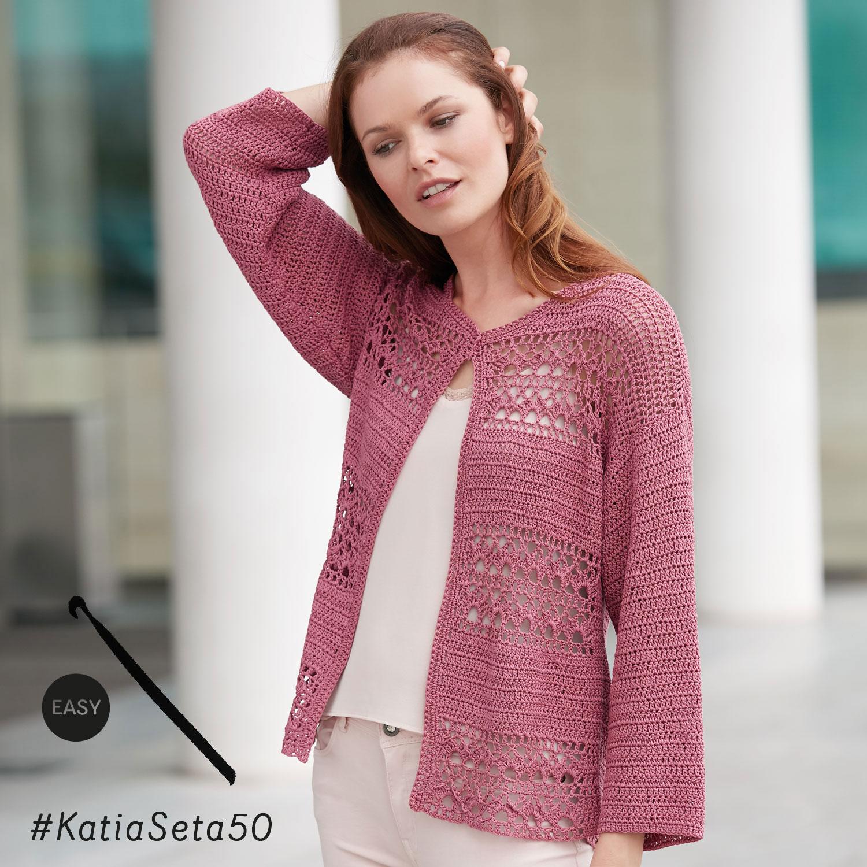 katia gehaakt vestje - elegante en eenvoudige patronen