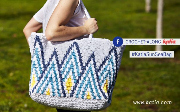 CAL crochet along washi strandtas