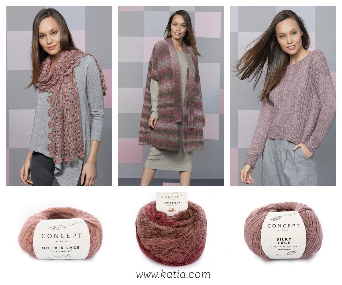 7 kleurentrends voor herfst/winter 2018/2019 met katia garens