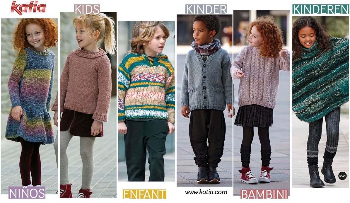 Back to school patronen - breien voor kinderen met Katia