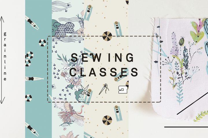 Hoe knip je een naaipatroon - Leer alles over de draadrichting van stof