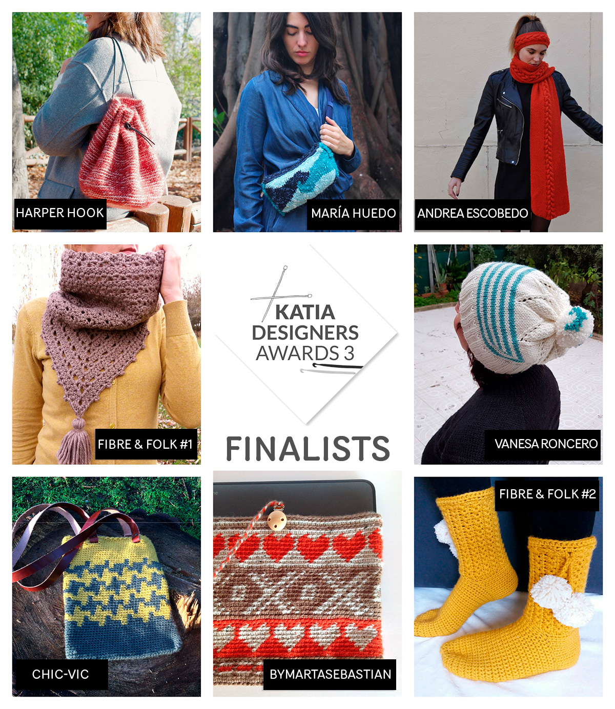 Katia Designers Awards - finalisten
