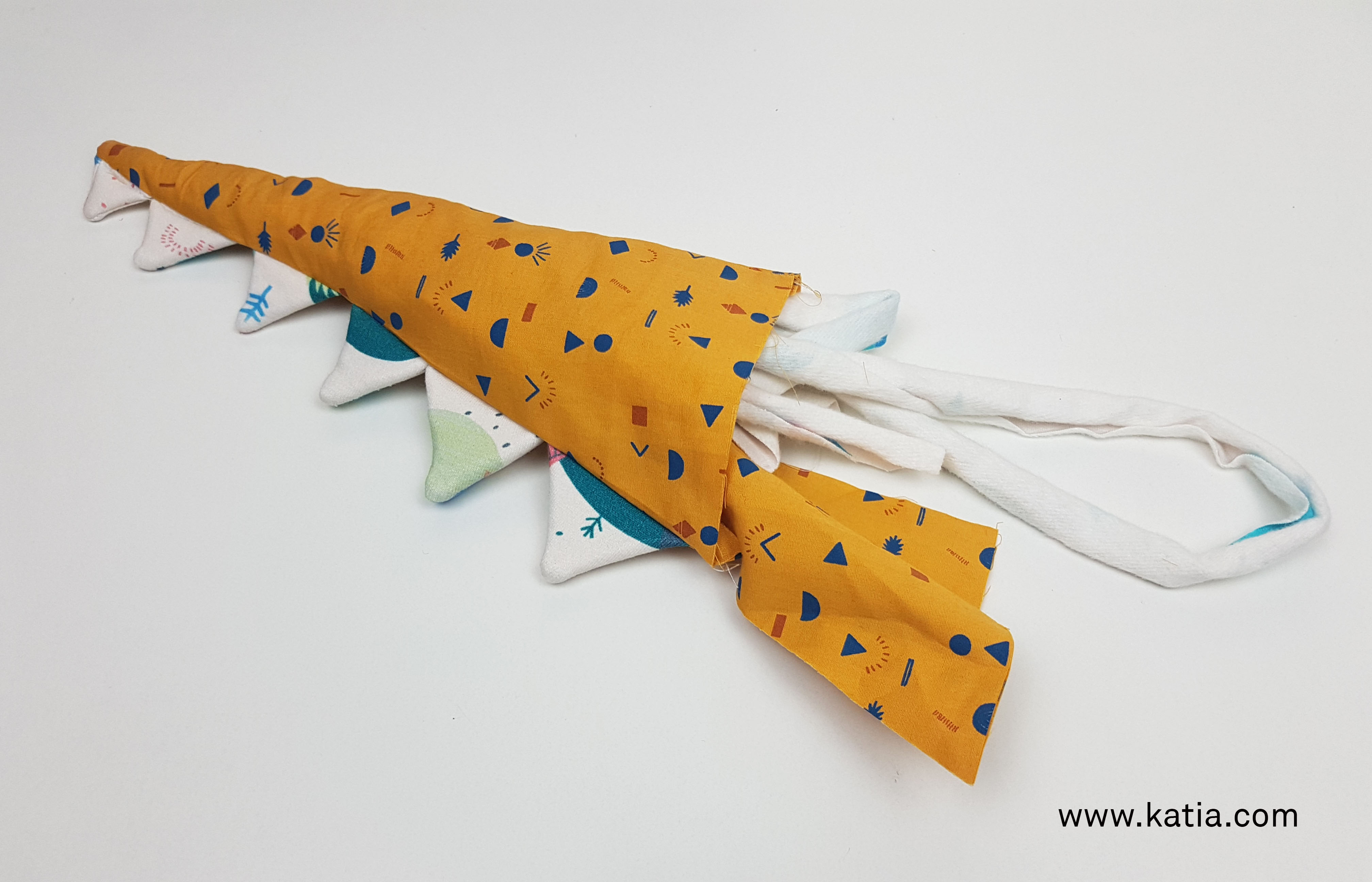 Dinosaurus snoeptas naaien - gratis naaipatroon en uitleg van Katia11