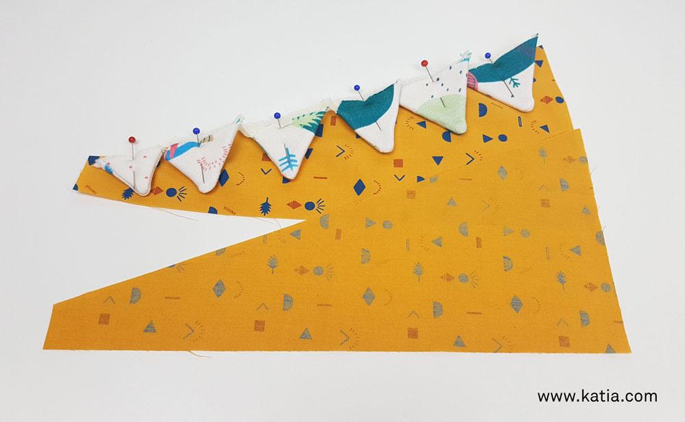 Dinosaurus snoeptas naaien - gratis naaipatroon en uitleg van Katia13