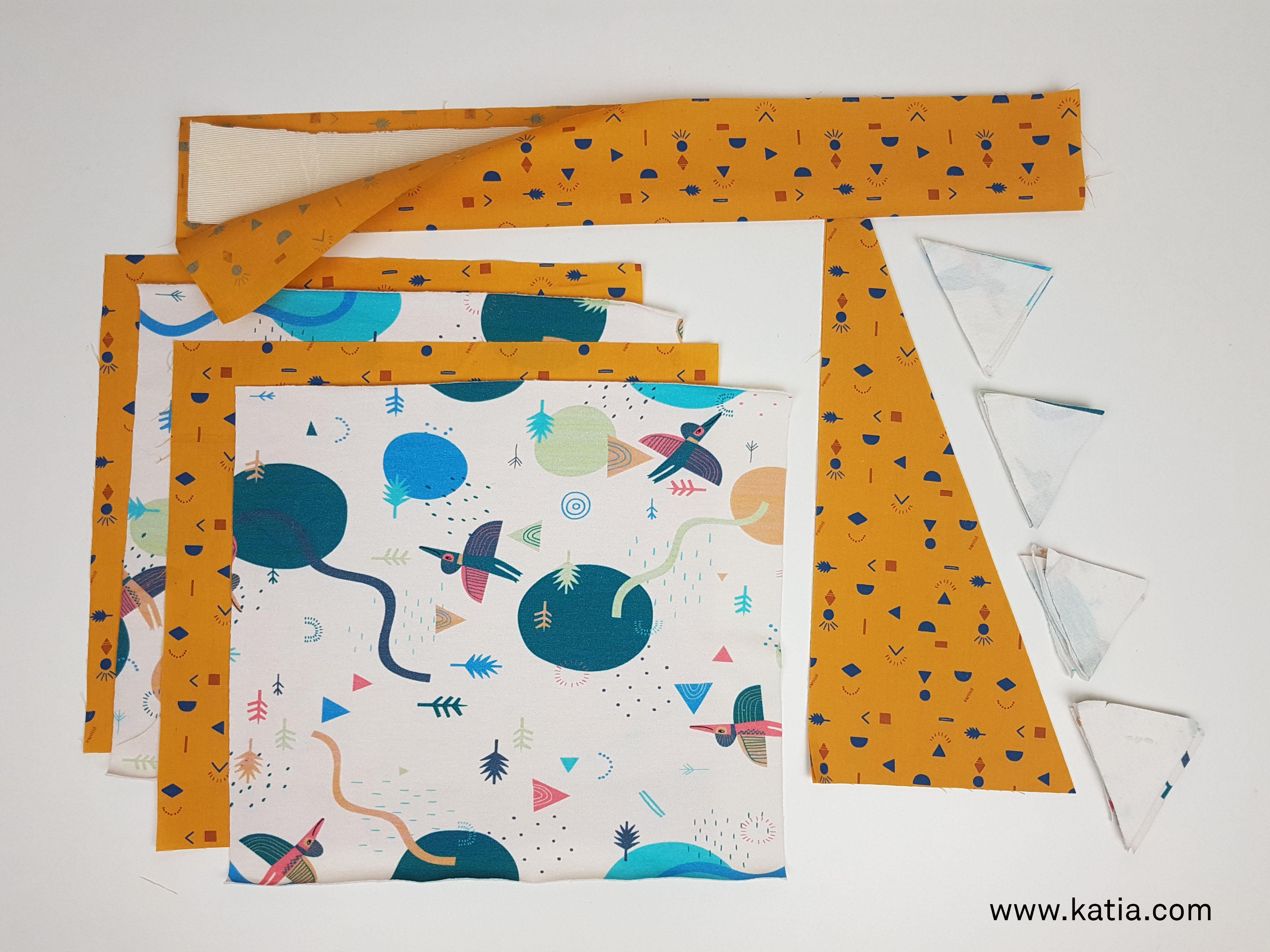 Dinosaurus snoeptas naaien - gratis naaipatroon en uitleg van Katia16