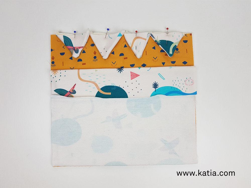 Dinosaurus snoeptas naaien - gratis naaipatroon en uitleg van Katia9
