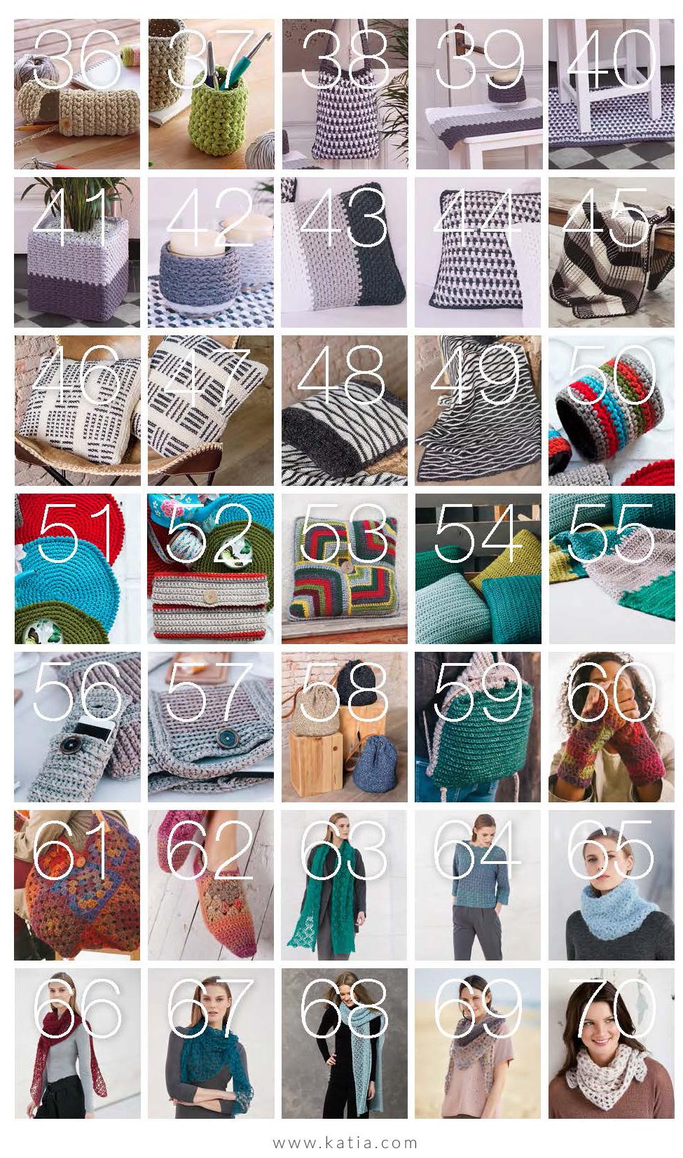 Katia Special crochet - 70 haakpatronen