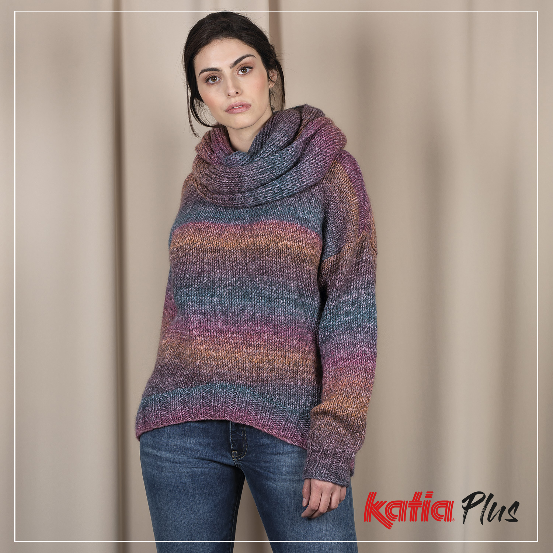 Katia Plus Collectie - 7 plus size breipatronen voor vrouwen