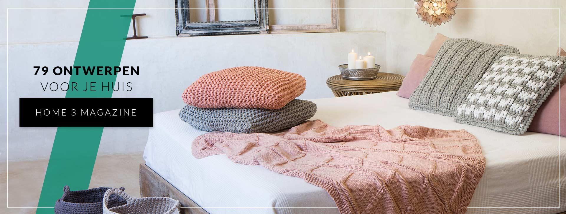Katia magazine home 3: patronen voor je woning