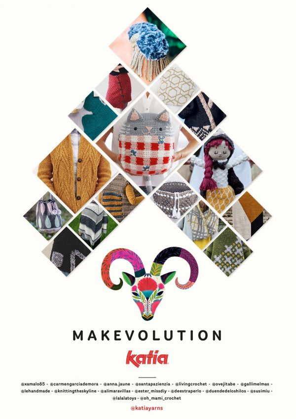 Makevolution - 16 haak- en breipatronen - crochet-along en knit-along