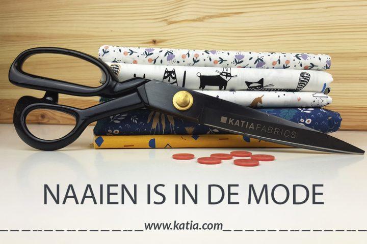 Naaien is in de mode - leer de basistechieken van naaien met Katia Fabrics