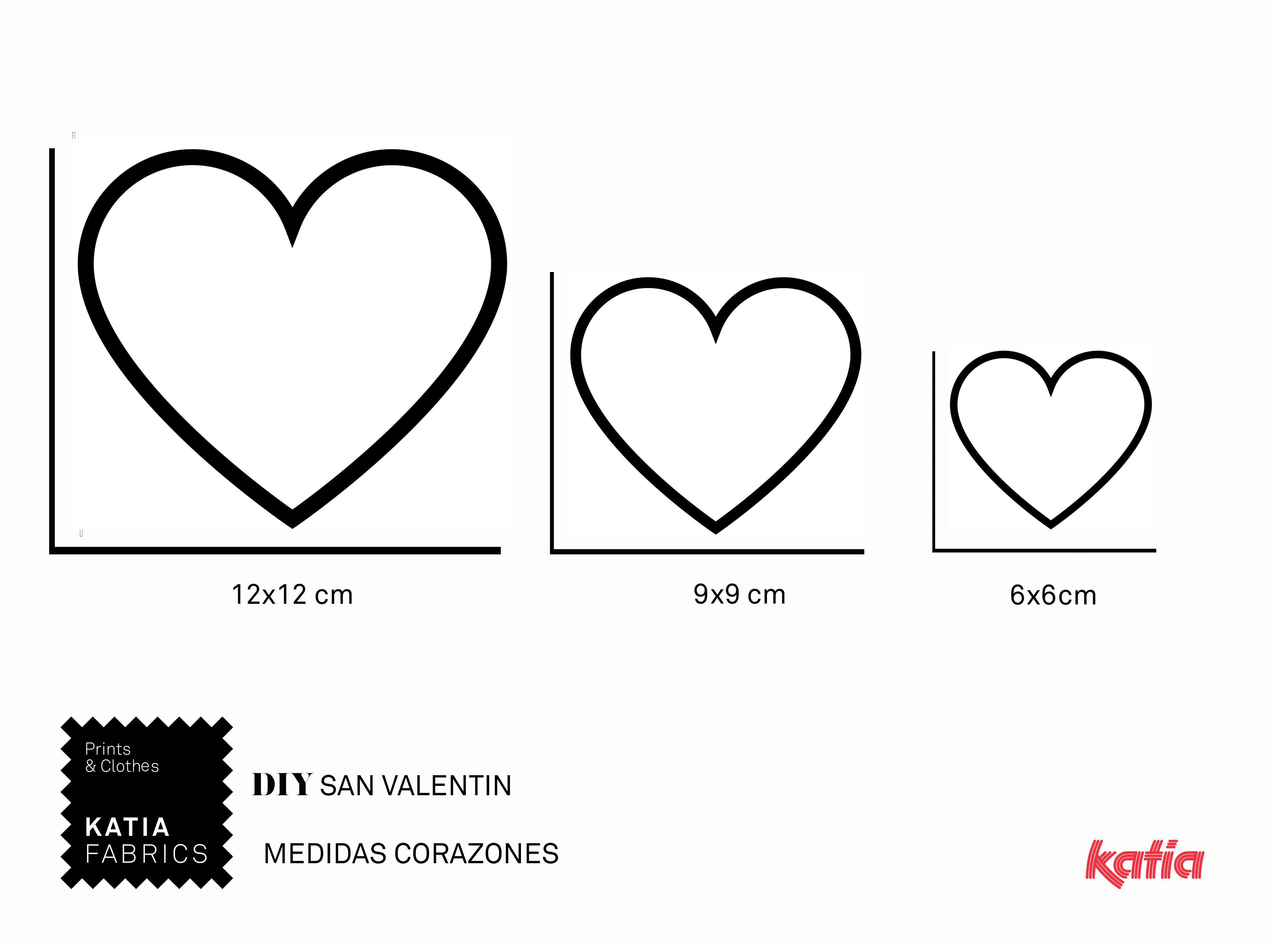 Naai een placemat en bestekhouder in hartjesvorm voor Valentijnsdag
