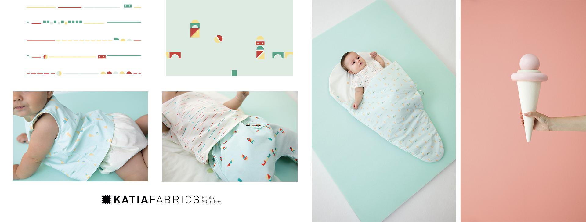 Katia Fabrics - nieuwe stoffencollectie lente/zomer 2019