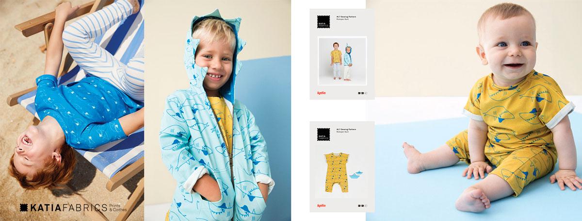 Katia Fabrics - nieuwe stoffencollectie lente/zomer 2019Katia Fabrics - nieuwe stoffencollectie lente/zomer 2019