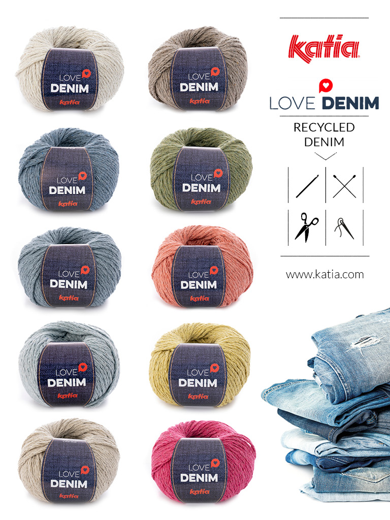 Love Denim Challenge - katia love denim kleuren