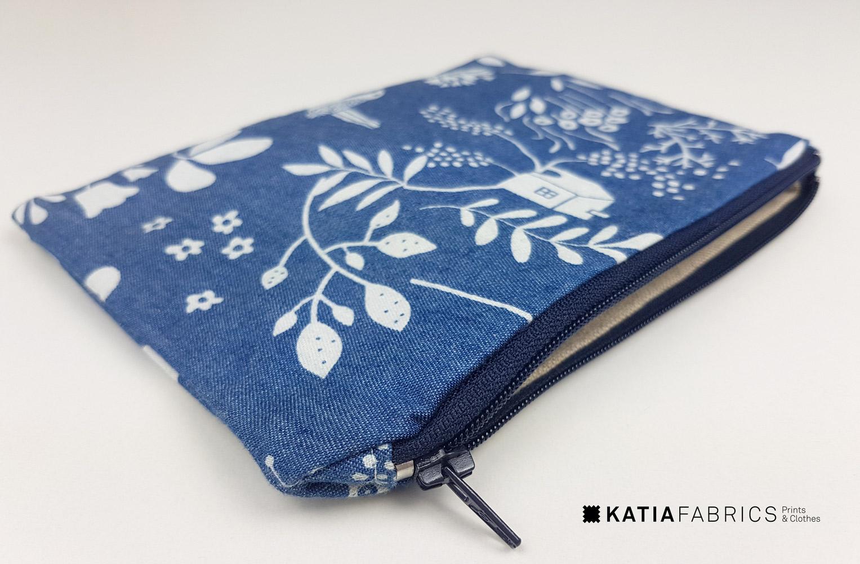 Leer een rits inzetten met de naaimachine - naailes van Katia Fabrics
