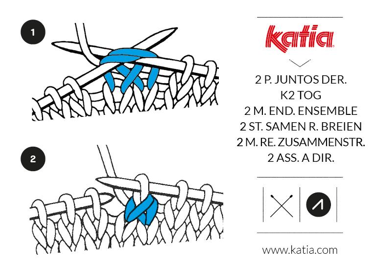 12 simpele ajour breipatronen van Katia garens
