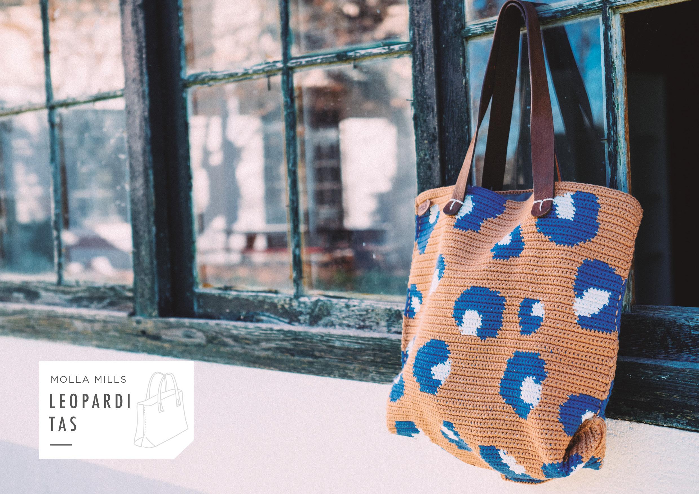 Molla Mills - 7 geometrische tapestry haakpatronen - Limited Edition handtas