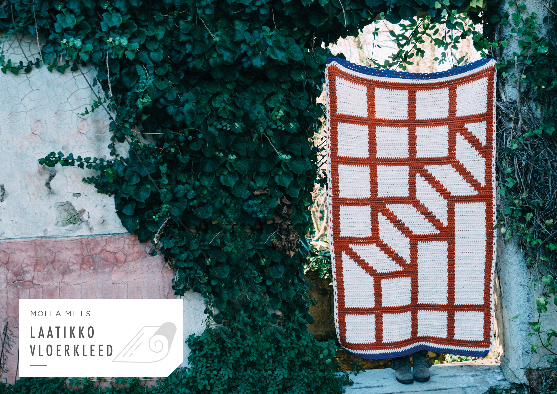 Molla Mills - 7 geometrische tapestry haakpatronen - Limited Edition deken