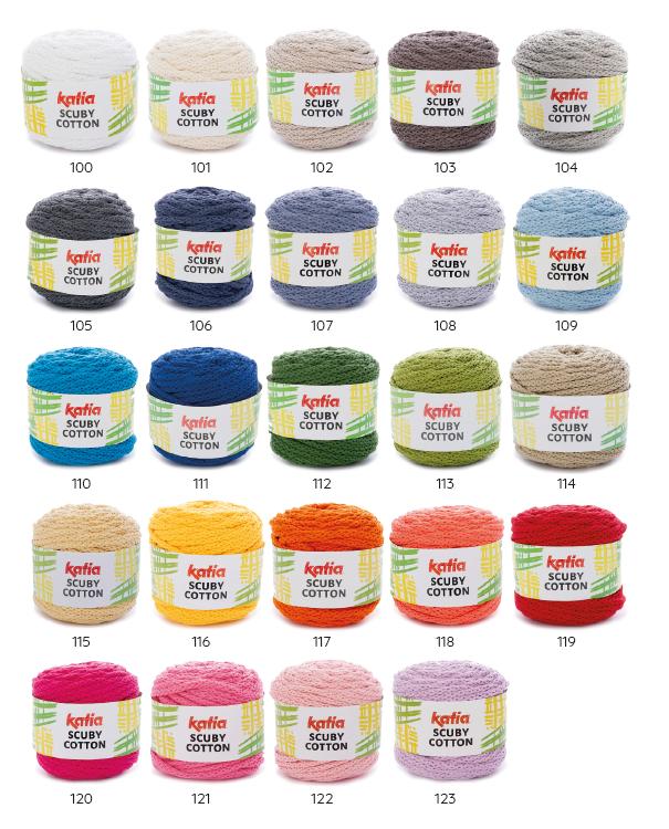 Beschikbare kleuren Scuby Cotton