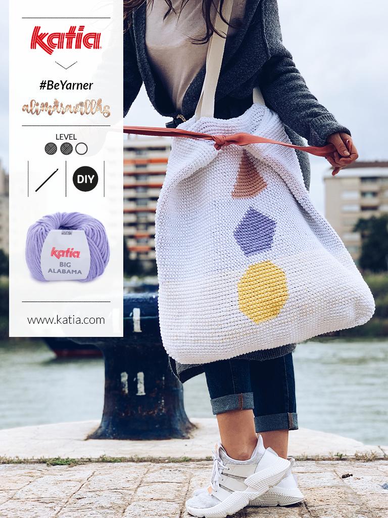 'Be Yarner, My Friend' tas - gratis haakpatroon door alimaravillas