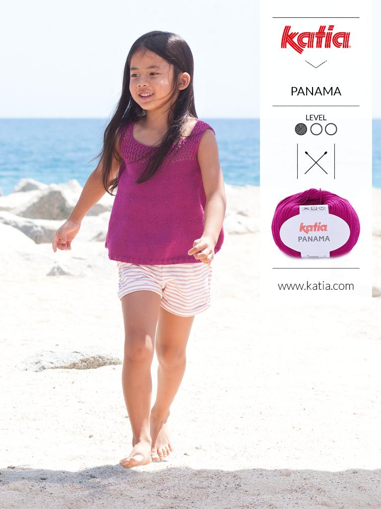 gebreide en gehaakte kindermode trends zomer 2019 panama