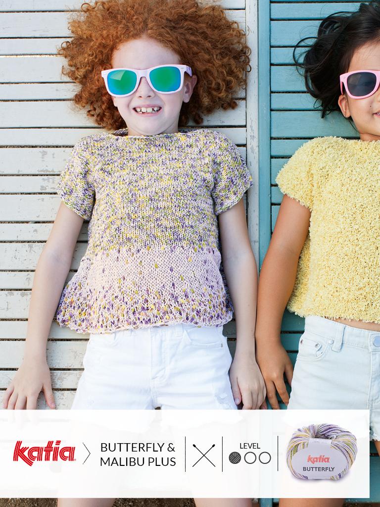 gebreide en gehaakte kindermode trends zomer 2019 butterfly