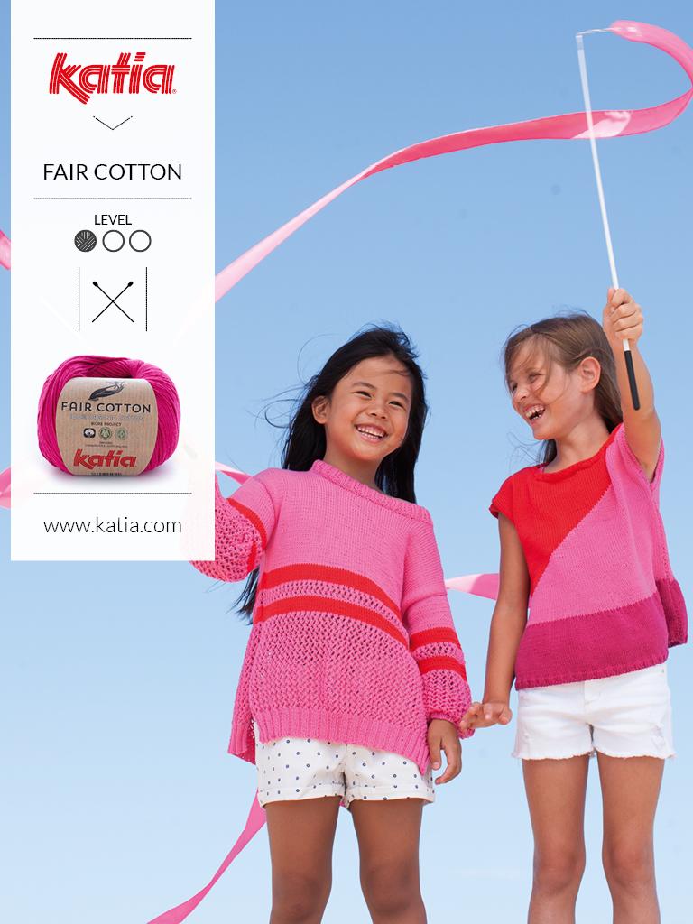 gebreide en gehaakte kindermode trends zomer 2019 fair cotton