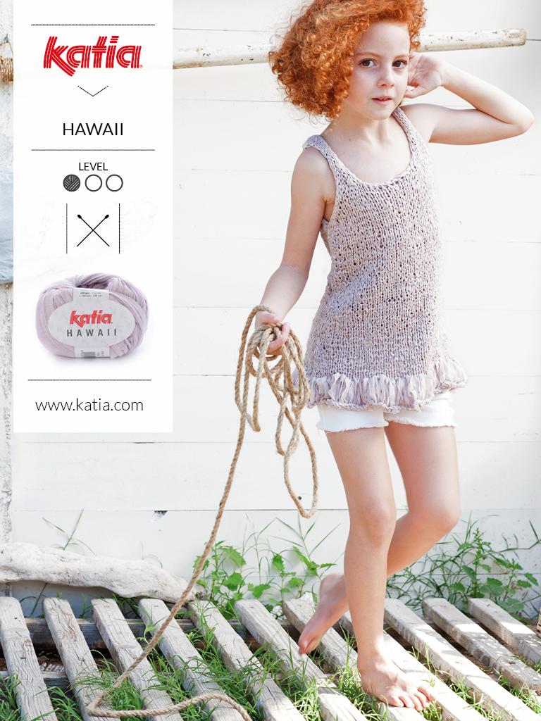 gebreide en gehaakte kindermode trends zomer 2019 hawaii