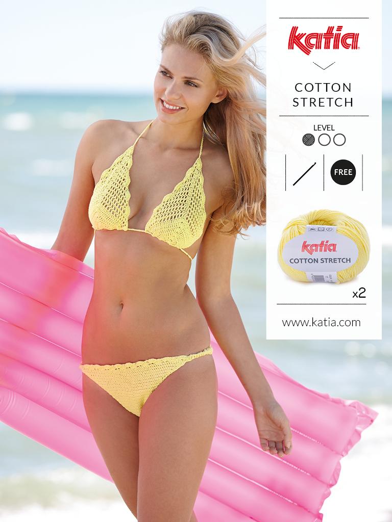 gehaakte bikini - gratis haakpatroon Katia