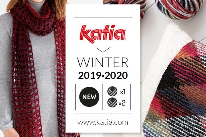 11 nieuwe herfst:winter garens van Katia, 1 bol = 1 project