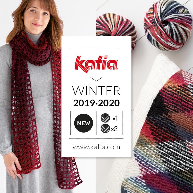 11 nieuwe herfst/winter garens van Katia, 1 bol = 1 project