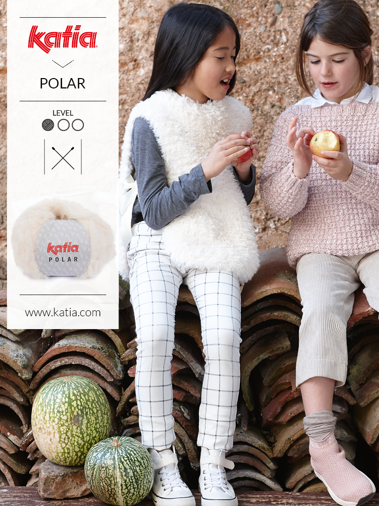 kindermode trends die je eenvoudig kan breien dankzij Katia tijdschrift Kids 91
