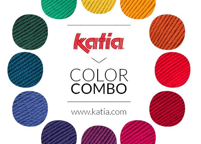3 kleurencombinaties haken en breien - kleurenwiel