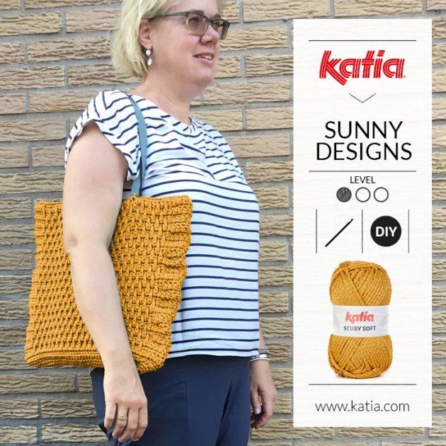 Scuby Soft tas door Sunny Designs - haak je eigen tas