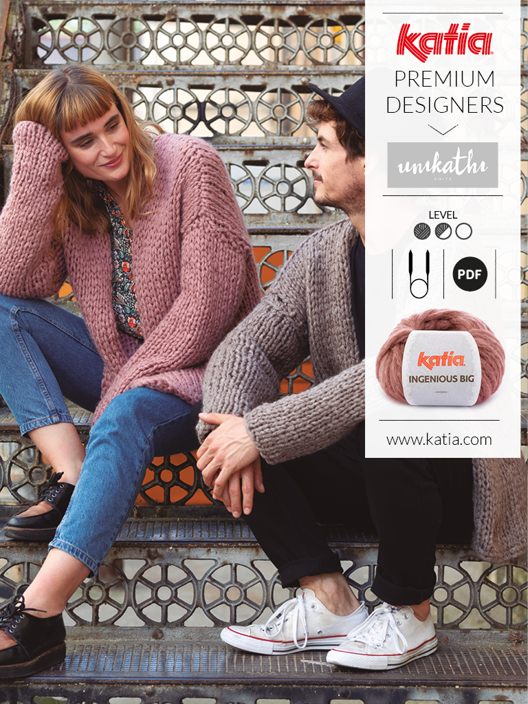 Katia Premium Designers Magazine Unikhatiknits