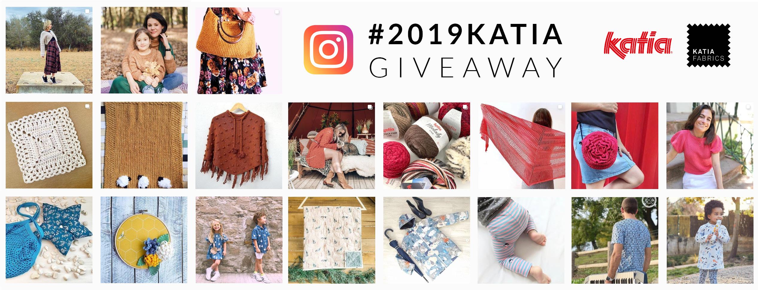 Made with Katia giveaway 2019