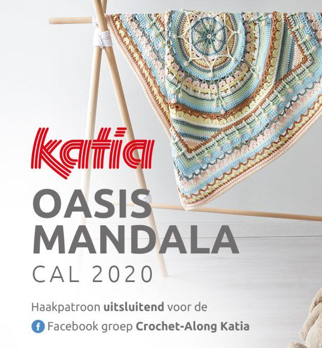 Katia Oasis Mandala CAL 2020 - gratis haakpatroon