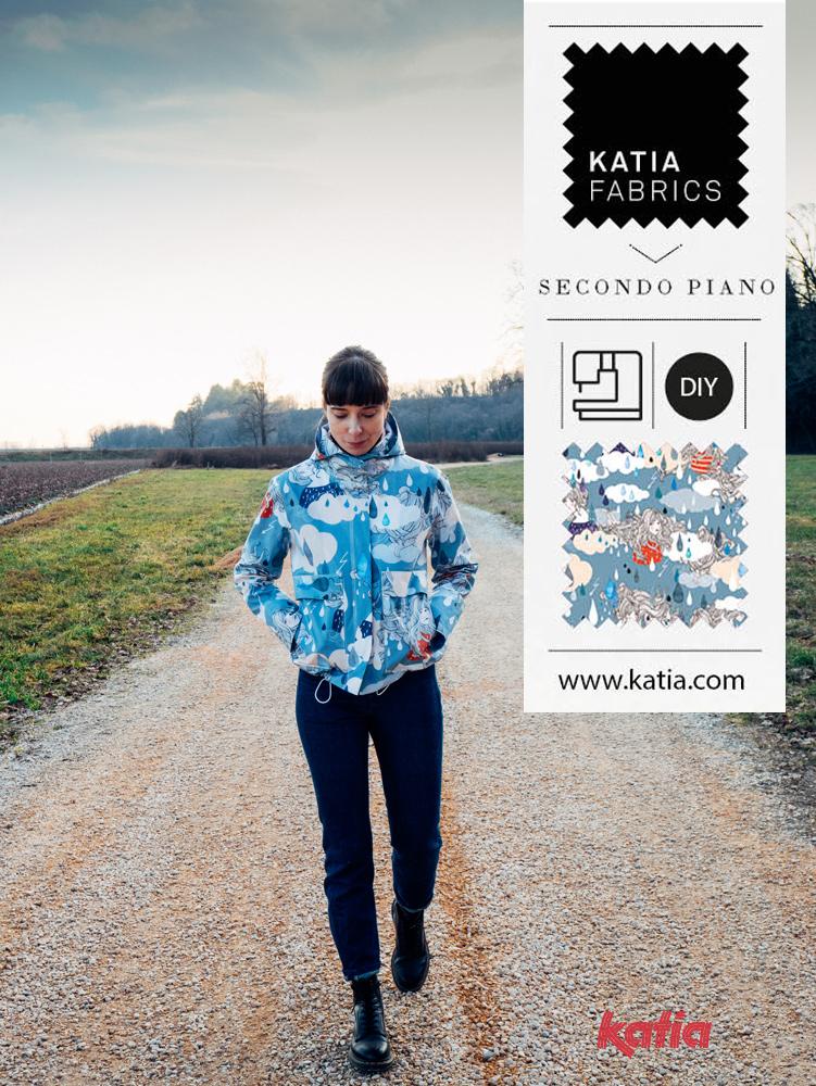 Leer een regenjas naaien met Katia Fabrics