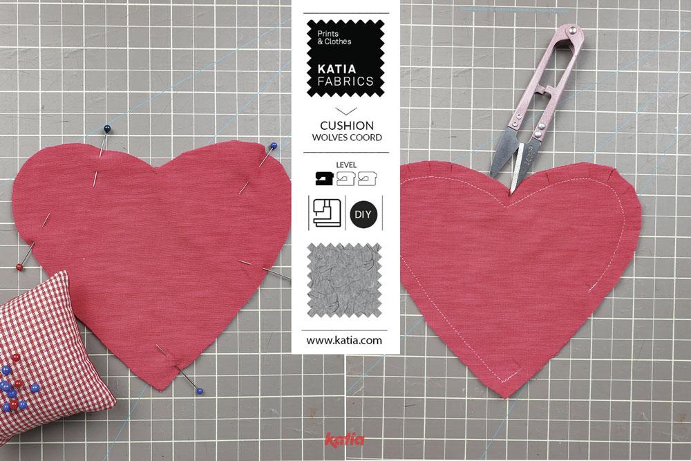 Liefdesbrief kussen naaien - tutorial Katia Fabrics1