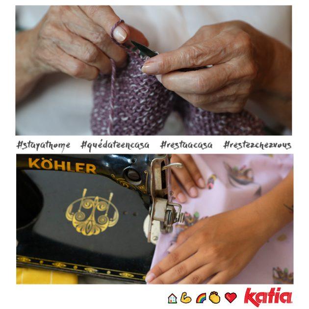 Haak of brei en #blijfthuis met Katia's gratis haak- en breipatronen
