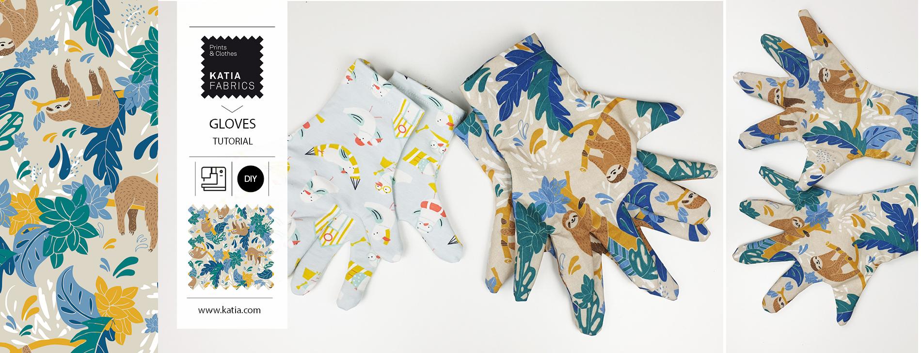 Waterdichte handschoenen naaien