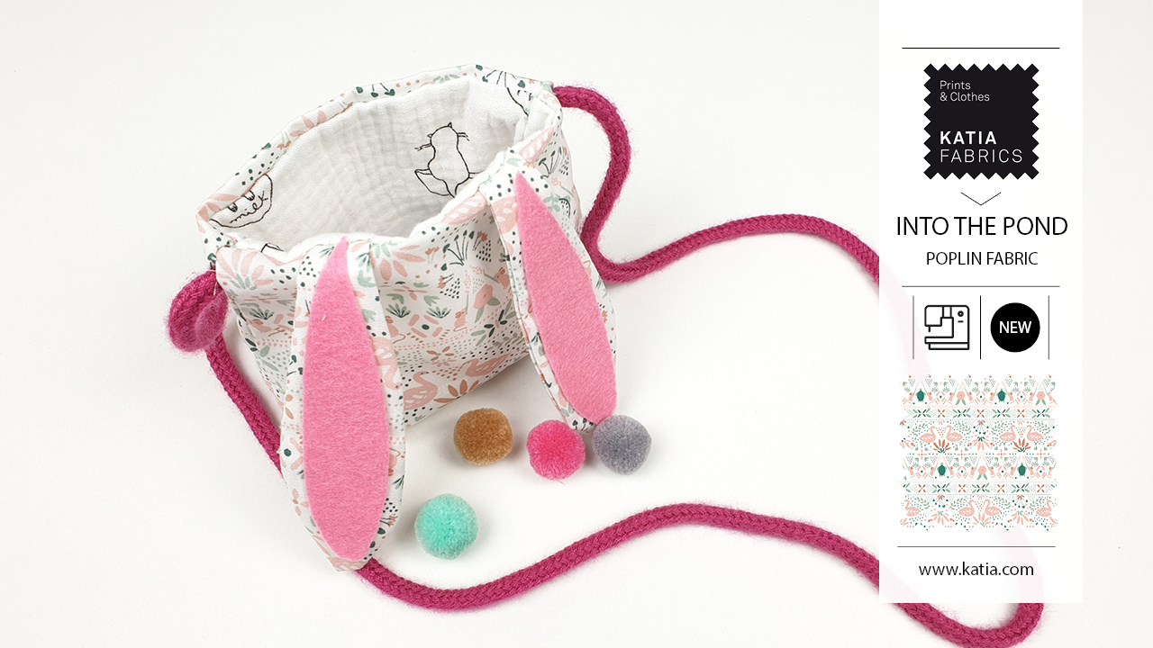 Naaitutorial voor kinderen - paashaas-tas naaien